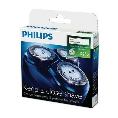 NEW Official Philips HQ56/50 Super Lift and Cut Replacement Shaving Head Unit