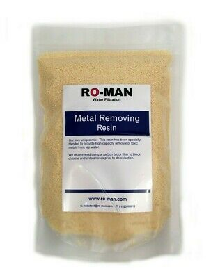 1 Litre Metal Removing Resin | Reverse Osmosis and Water Filration