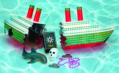 18 inch Ship Wreck Toy Dive Game Swimming  Pool Kids LEARN TO SWIM Swimline 9178