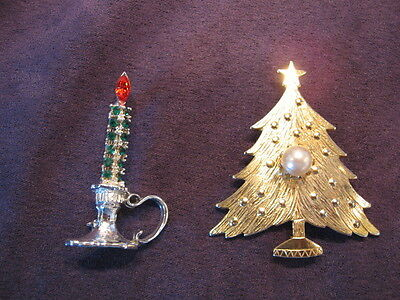 Dodds candle & uns. tree pin M59