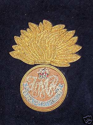 Fusiliers Mont-Royal of Canada pocket Crest/badge