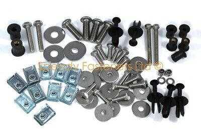 Stainless Steel Bolts Washers Nuts Clips 66 pcs Elise VX220 Handy Accessory Pack