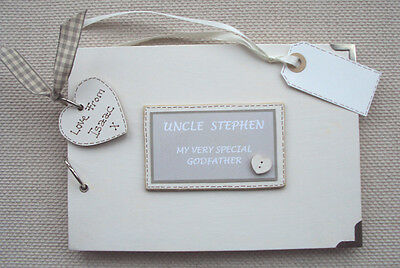 Personalised.my Godfather Gift.a5 Size Photo Album/scrapbook/memory Book.