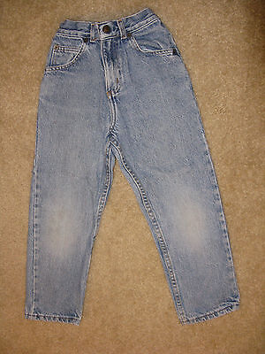Boys/Girls LEVI'S 550 Classic Straight Leg Jeans, Sz. 6 ~ No Holes!  Made in USA