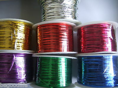 1Roll(100Yards) Metallic Twist ties Wire Many Colors to Choose
