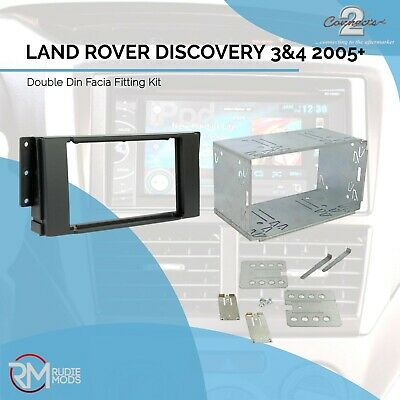 Connects2 LRover Discovery 3 4 Double Din Car Stereo Facia Fitting Kit