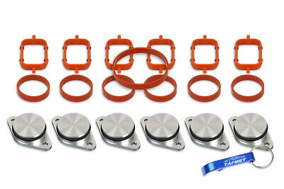 6 x 32 33 mm Swirl Flap Replacements Removal Blanks Manifold Gaskets for BMW M57