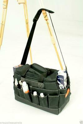 Artist Tote with large centre compartment & lots exterior pockets 20x41x25cm