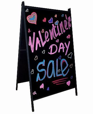 A-Frame Sidewalk Markers Board Outdoor Double Sided Sign
