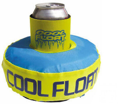 Cool Floatie Drink Can Cooler Holder Spa Swimming Pool Hot Tub Float Inflatable