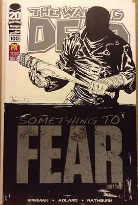 The Walking Dead #100 SDCC 2012 Retailer Exclusive San Diego Comic Con Variant