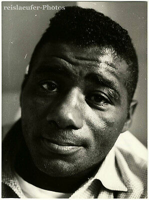 Floyd Patterson, Boxing-legend, Original-Photo from 1966