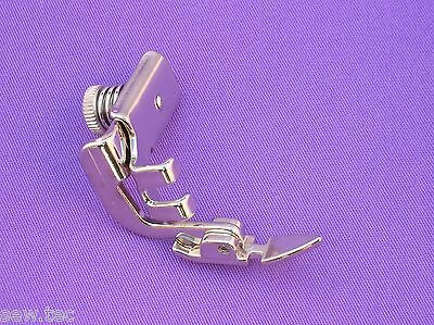 Adjustable Zipper Foot Low Shank Fit Brother Singer Toyota Sewing Machine Feet