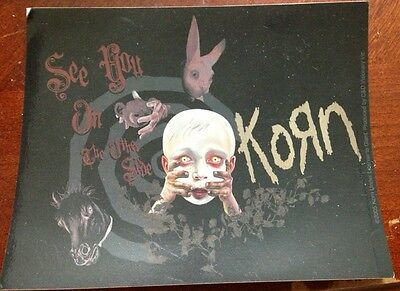 Korn See You On The Other Side Sticker Brand New