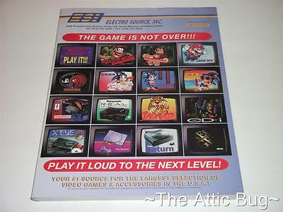 Electro Source, Inc. 1995 Catalogue ~ Vol.3 No.1 ~ PS1 / N64 / SNES / 3DO etc.