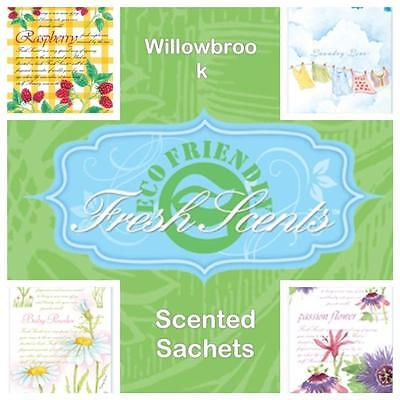 Willowbrook Large Scented Sachets Variety **FREE P&P**