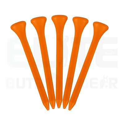 69mm Standard Plastic Golf Tees - Various Quantities Available