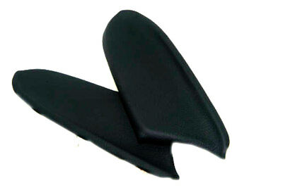 Door Panel Armrest Leather Synthetic Cover for Honda Accord Sedan 08-12 Black