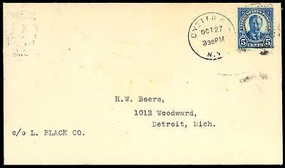 557, First Day Cover - Oyster Bay - Very Rare!
