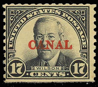 "CANAL ZONE 91B, ""CANAL"" ONLY ERROR Cat $2000 - CHB 3408"
