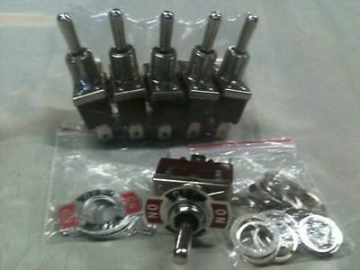 Toggle switch (ON)-OFF-(ON) momentray action  *5 switch multipack* 25 Amp 12V