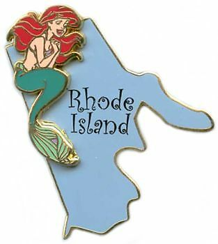 Disney State Character Pins Rhode Island Ariel  Pin