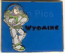 Disney State Character Pins Wyoming Buzz Lightyear  Pin