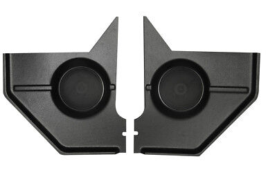 1967 1968 Ford Mustang COUPE / FASTBACK Kick Panels with 100 Watt Speakers