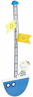 NWT Haba Kids Wooden Height Measuring Chart Small Paul