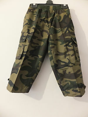 New Boys**Fully Lined Combat- Camouflage Trousers In  Size 4-14  Years