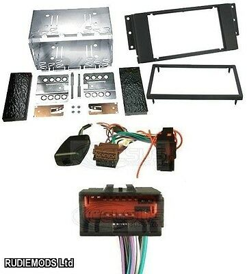 Land Rover Discovery 3 04-09 Car Stereo Double Din Kit and Stalk Adaptor