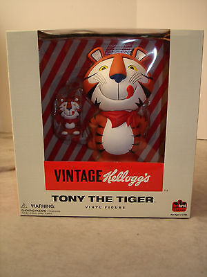 VINTAGE KELLOGG'S TONY THE TIGER VINYL FIGURE NEW IN BOX MINT FROSTED FLAKES