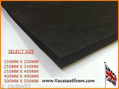 Motorcyle Racing Seat Foam 10mm Thick Self Adhesive
