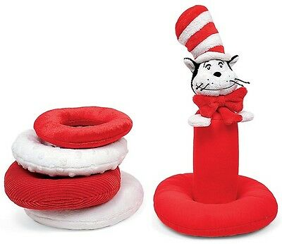 Dr Seuss The Cat In The Hat Fabric Baby Stacker Brand New Great Gift