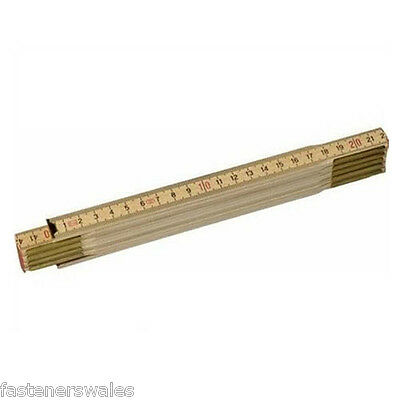 Stanley 2m 2 Metre Folding rule. Ruler.