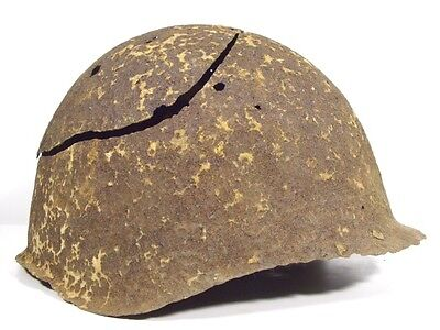Ww2 Russian Ssh40 Helmet From Battle Of Kurland