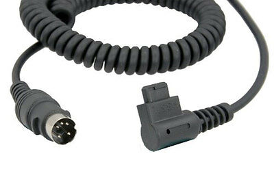 Quantum CZ2 Locking Flash Cable for Turbo Battery For Canon DSLR Flashes