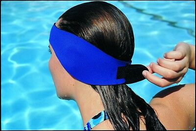 Water Gear Neoprene EAR WRAP Learn to Swim Headband Gear ALL SIZE Swimming 53630