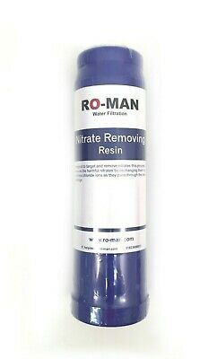 """Nitrate Removal 10"""" 1 Litre Cartridge 
