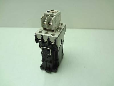 Fuji Electric SC-E05/G Motor Contactor with SZ-A20/T Auxiliary 24VDC Coil