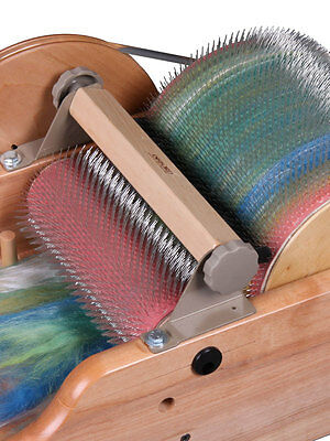"""DRUM CARDER PACKER BRUSH - to suit Ashford 8""""/20cm DRUMCARDERS  Easy to fit..."""