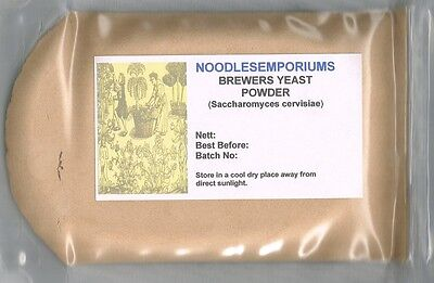 Brewers Yeast Powder 200g Inactive & Debittered (Saccharomyces cervisiae)