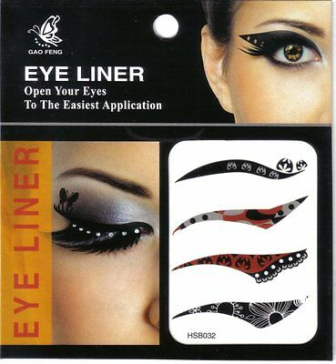 Eye liner tattoo version contemporaine bicolore -yeux- spectaculaires-velours