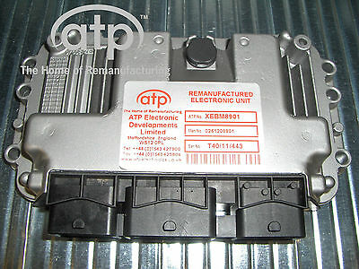 0261208901 Ecu Peugeot 206 Citroen, Me 7.4.5 Re-Manufactured