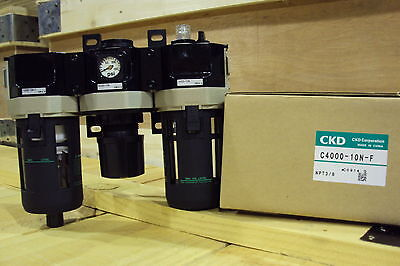 CKD F.R.L. Filter Regulator Lubricator C4000-10N-F