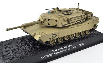 1st USMC Tank Battalion - Iraq 2003.. M1A1HA Abrams..... diecast collection army