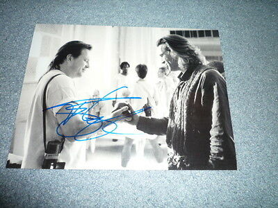 TERRY GILLIAM signed Autogramm 20x28 cm In Person MONTY PYTHON