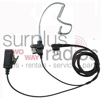 2 Wire Surveillance Headset HYT TC500 TC508 TC610 TC580 TC610 Blackbox Bantam