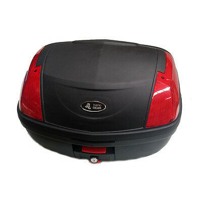 Large Universal 52L Motorcycle Scooter Topbox Rear Storage Luggage Top Box
