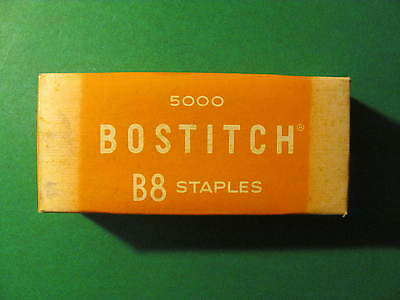 Bostich B8 Staples. 5000. Cat. No. STCR2115-1/4""